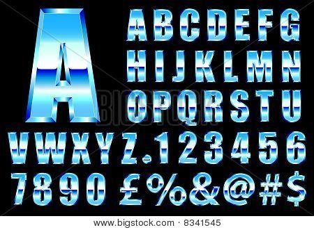 Ocean Chrome Font