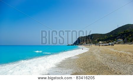 Kathisma Beach, Lefkada Island, Greece