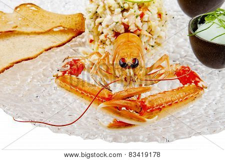 Seafood. Prepared Shellfish.