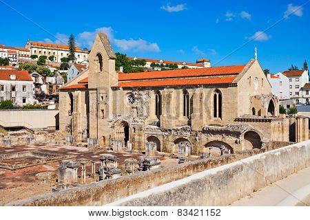 The Ruins Of The Monastery Of Santa Clara