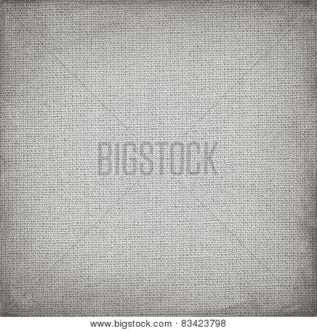 square gray canvas with delicate grid to use as grunge horizontal background or texture