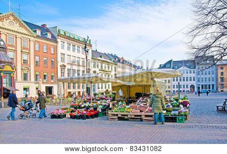 Denmark. Copenhagen. Nytorv (New Square)