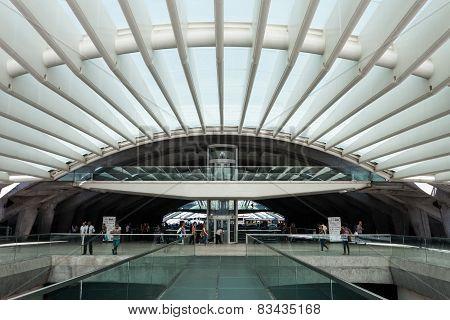 Oriente Station, Lisbon