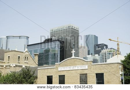 Changing Houston Skyline