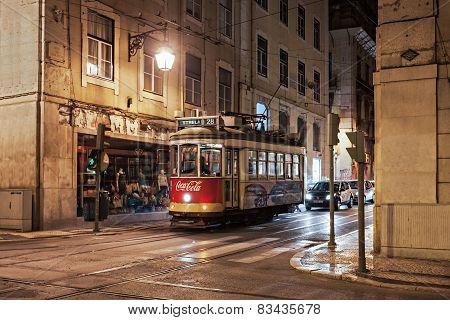 Old Tram, Lisbon