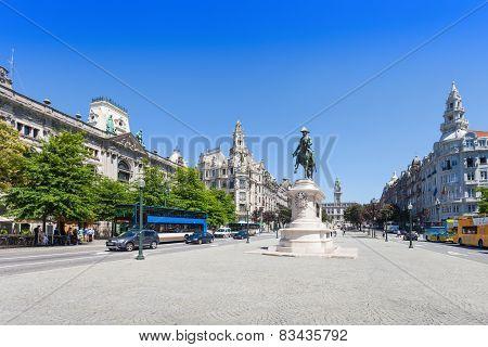 Liberdade Square, Porto