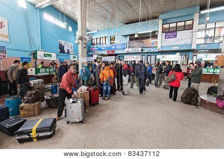 Kathmandu Airport Interior