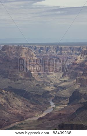 The Beauty Of Grand Canyon and Colorado river