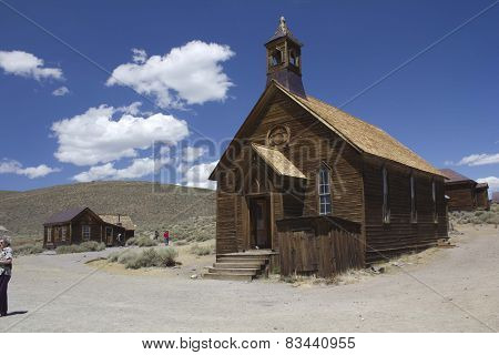 Church in Bodie Ghost town, California