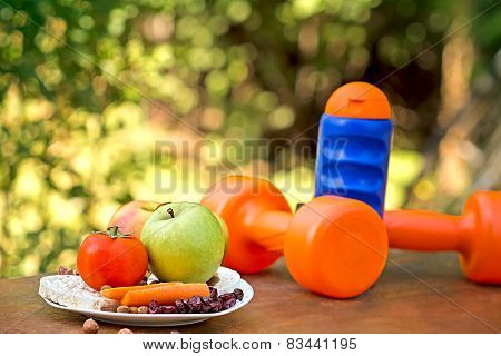 Concept of healthy living