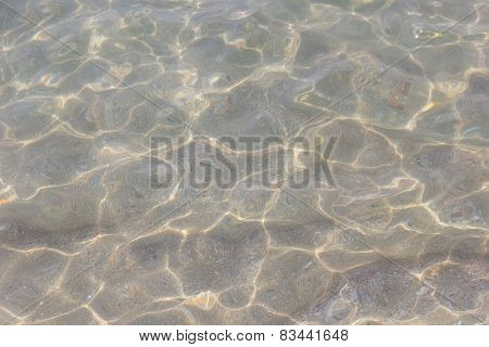 Yellow sand waves in shallow water