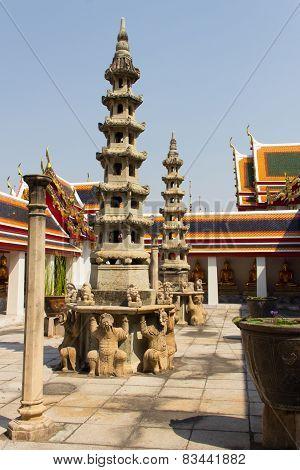 Grand palace inside Bangkok