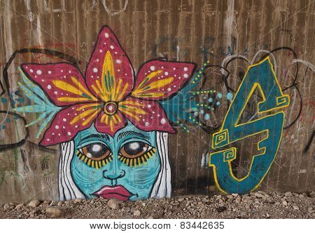 Graffiti in Eilat, Israel