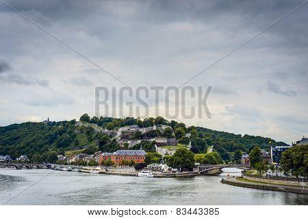 River Meuse Through Namur, Belgium