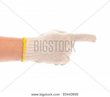 Thin work gloves