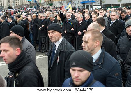 March Of Dignity In Kiev