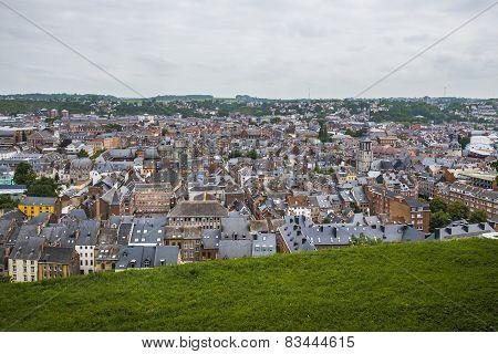Namur Skyline, Wallonia, Belgium.