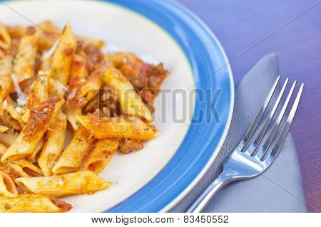 Sauce And Pasta