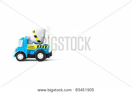 Concrete Mixer Toys Truck