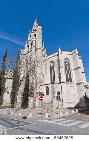 Saint Pierre Church At Avignon, France