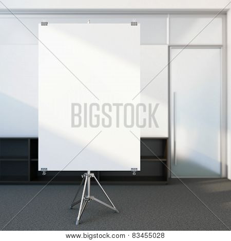 Blank screen in the office
