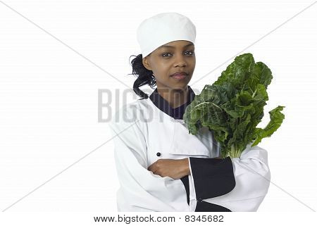 Chef And Spinach