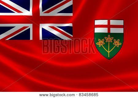 Ontario Provincial Flag Of Canada