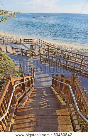 Pathway to Laguna Beach