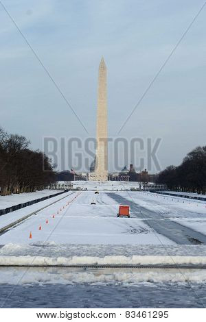 Winter in Washington DC