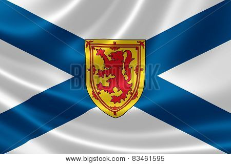 Nova Scotia Provincial Flag Of Canada