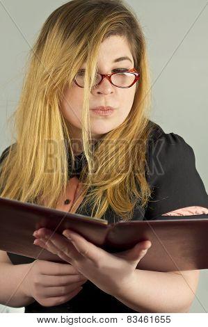 Nerd Girl Portrait