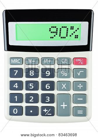 Calculator With 90