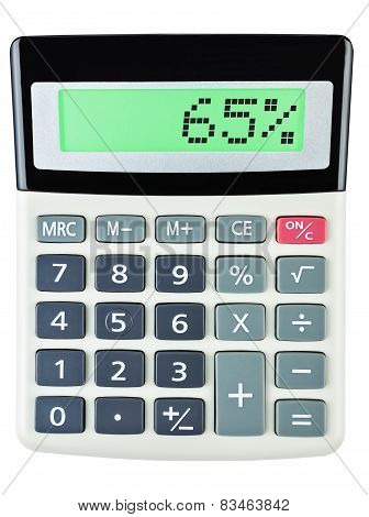 Calculator With 65