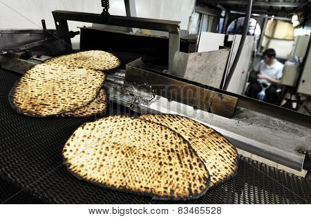 Glat Kosher Matzah Factory