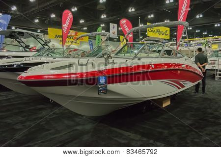 Yamaha Sx190 Boat On Display