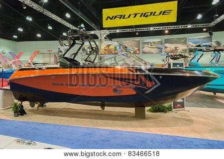 Super Air Nautique Boat On Display