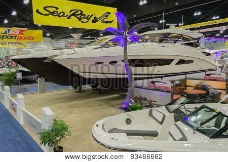 Sea Ray Boats On Display