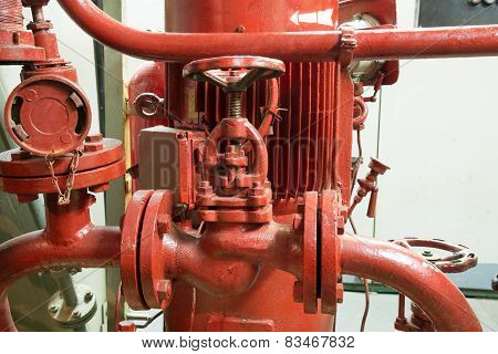 Part Of Fire Sprinkler System
