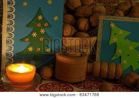 Christmas Decorations. Christmas. Christmas Eve.christmas Greeting Card.