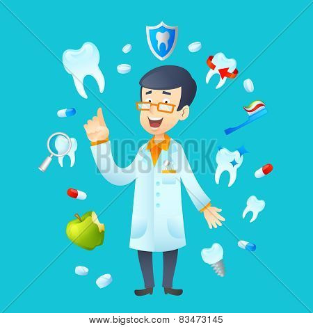 Dentistry Concept Illustration