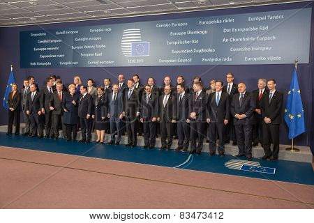 Leaders Of The European Union