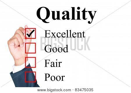 Quality Evaluation Form