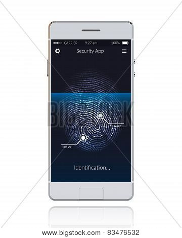Phone Scanning Fingerprint