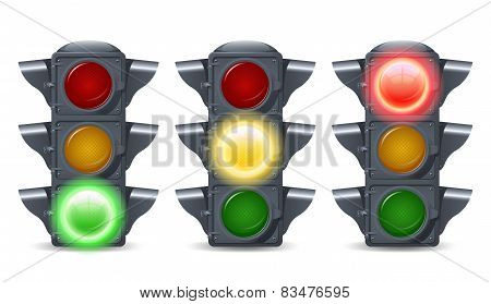 Traffic Lights Set