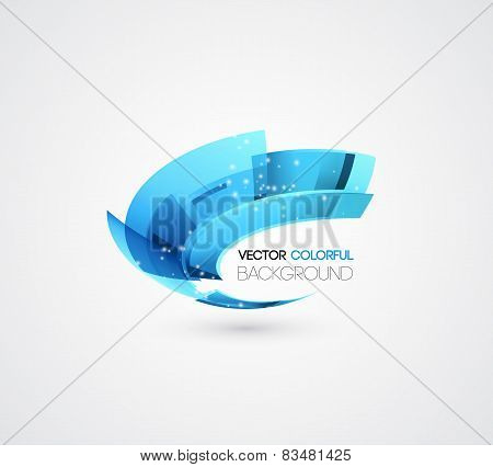 Abstract technology digital lines vector background. Logo design