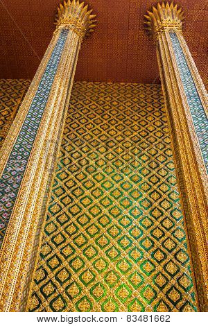 Phra Mondop(the Library? At Temple Of The Emerald Buddha Or Wat Phra Kaew Or Wat Phra Si Rattana Sat