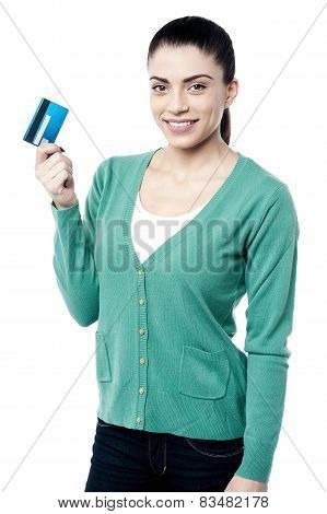 Got My New Credit Card