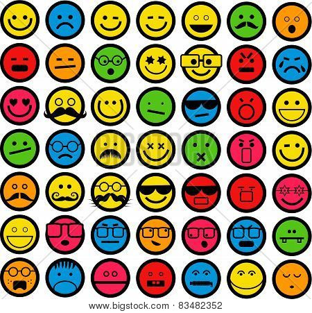 Color Emoticons