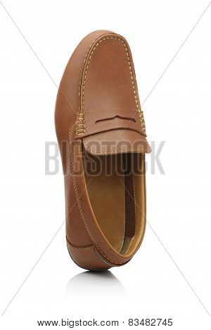 Brown Laughing Shoe