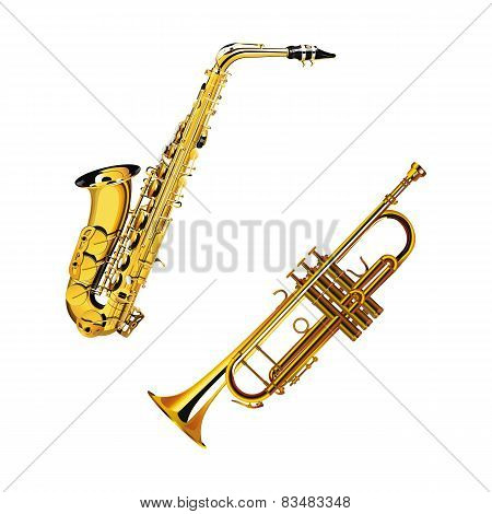 Saxophone And Trumpet